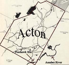 Acton Map